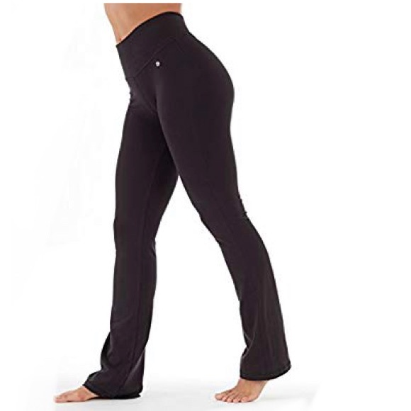 9042f9f38 Bally Total Fitness Tummy Control Long Pant small